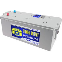Аккумулятор 6СТ-210 L (1360А) п/п PREMIUM (-;+) конус