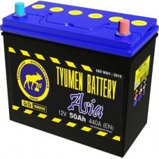 Аккумулятор ASIA 6СТ-50 L (440А) о/п Ca/Ca (-;+)