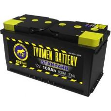 Аккумулятор 6СТ-100 L (830А) п/п STANDART Ca/Ca (+;-)