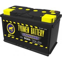 Аккумулятор 6СТ-90 L (720А) п/п STANDART Ca/Ca (+;-)