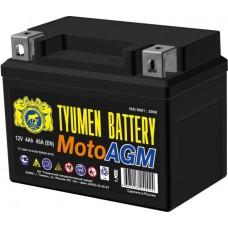 Аккумулятор мото AGM 6МТС-4 4Ah (45A) (12V) о/п (-;+) болт