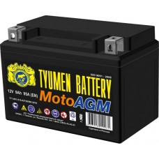 Аккумулятор мото AGM 6МТС-9 9Ah (95A) (12V) п/п (+;-) болт