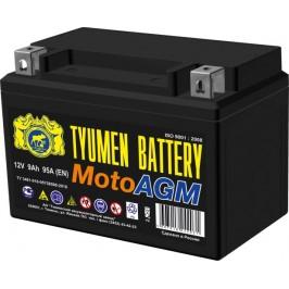 Аккумулятор мото AGM 6МТС-9 9Ah (110A) (12V) п/п (+;-) болт