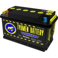 Аккумулятор 6СТ-90 L (680А) п/п STANDART (+;-)