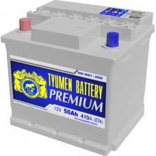 Аккумулятор 6СТ-50 L (410А) п/п PREMIUM Ока (+;-)