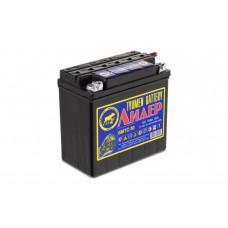 Аккумулятор мото 6МТС-10 (50А) Лидер болт