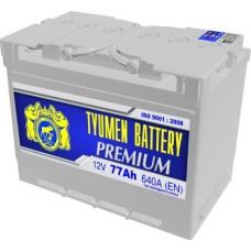 Аккумулятор 6СТ-77 LA (640А) п/п PREMIUM (+;-)