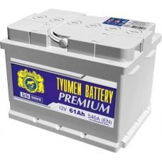 Аккумулятор 6СТ-61 LR (540А) о/п PREMIUM Ca/Ca (-;+) низкий
