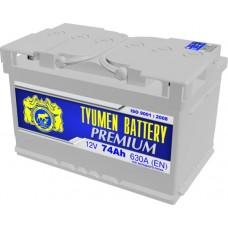 Аккумулятор 6СТ-74 L (630А) о/п PREMIUM низкий (-;+)