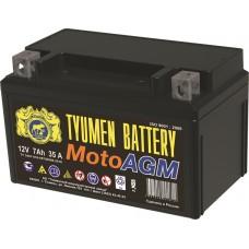 Аккумулятор AGM 6МТС-7 (35A) (12V) болт мото