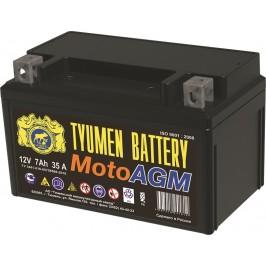Аккумулятор мото AGM 6МТС-7 7Ah (95A) (12V) п/п (+;-) болт