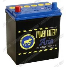 Аккумулятор ASIA 6СТ-40 L (360А) п/п (+;-) (тонк.кл.) /матиз/