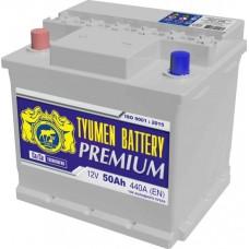 Аккумулятор 6СТ-50 L (440А) п/п PREMIUM Ca/Ca (+;-) Ока