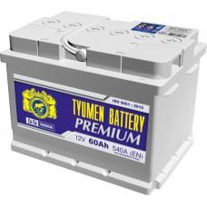 Аккумулятор 6СТ-60 LA (540А) п/п PREMIUM Ca/Ca (+;-) низкий