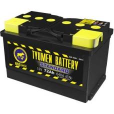 Аккумулятор 6СТ-72 L (640А) о/п STANDART Ca/Ca (-;+) низкий
